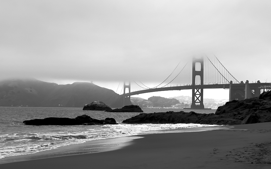 Black And White Photography Beach Landscapes Black Amp White Landscape